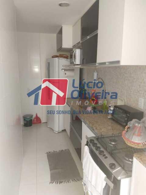 16- Cozinha - Apartamento à venda Travessa Cerqueira Lima,Riachuelo, Rio de Janeiro - R$ 310.000 - VPAP21455 - 17
