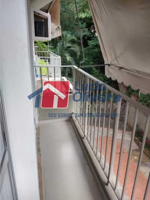 22- Varanda - Apartamento à venda Travessa Cerqueira Lima,Riachuelo, Rio de Janeiro - R$ 310.000 - VPAP21455 - 23