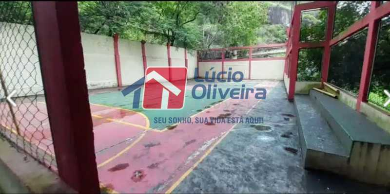 26- Quadra - Apartamento à venda Travessa Cerqueira Lima,Riachuelo, Rio de Janeiro - R$ 310.000 - VPAP21455 - 27