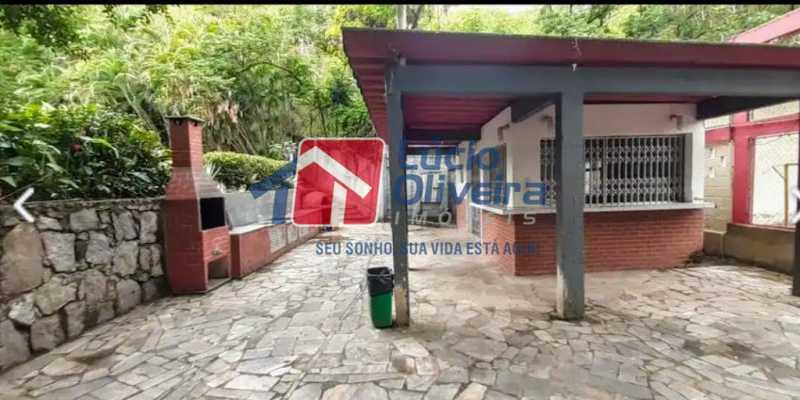 27- Churrasqueira - Apartamento à venda Travessa Cerqueira Lima,Riachuelo, Rio de Janeiro - R$ 310.000 - VPAP21455 - 28