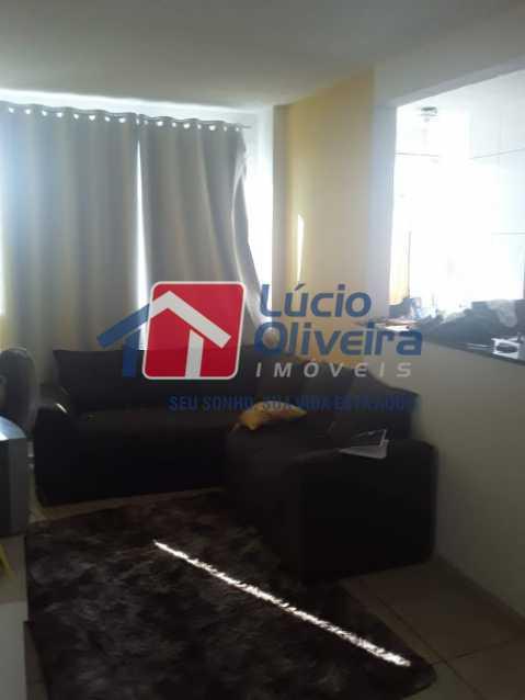 01- Sala - Apartamento à venda Estrada João Paulo,Honório Gurgel, Rio de Janeiro - R$ 165.000 - VPAP21461 - 1