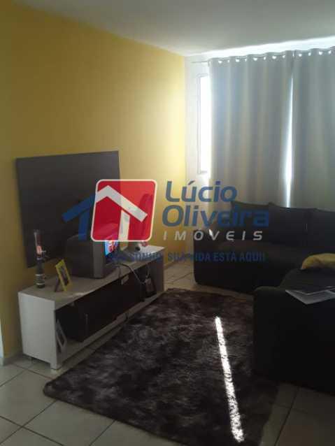02 - Sala - Apartamento à venda Estrada João Paulo,Honório Gurgel, Rio de Janeiro - R$ 165.000 - VPAP21461 - 3