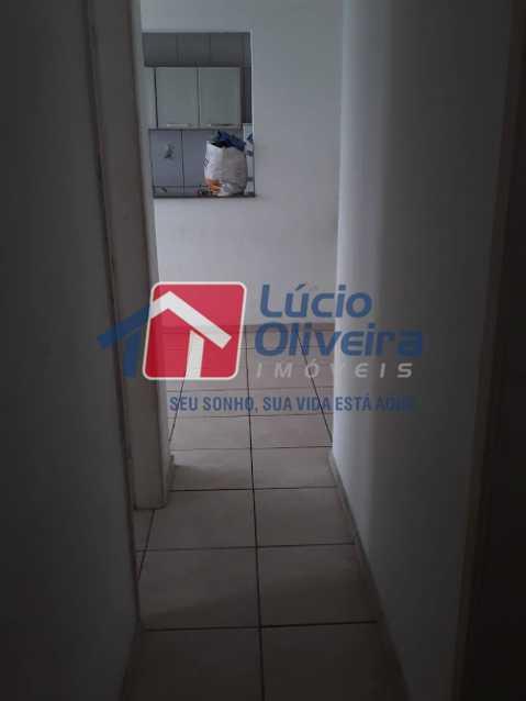05- Circulação - Apartamento à venda Estrada João Paulo,Honório Gurgel, Rio de Janeiro - R$ 165.000 - VPAP21461 - 6