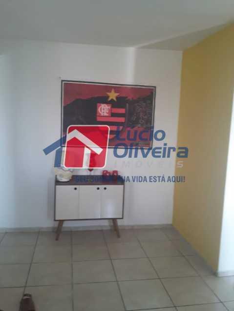 06- Sala - Apartamento à venda Estrada João Paulo,Honório Gurgel, Rio de Janeiro - R$ 165.000 - VPAP21461 - 7
