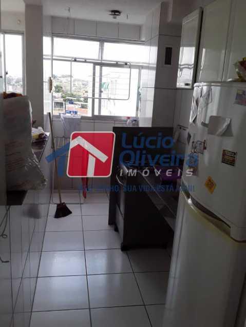 10- Cozinha - Apartamento à venda Estrada João Paulo,Honório Gurgel, Rio de Janeiro - R$ 165.000 - VPAP21461 - 11