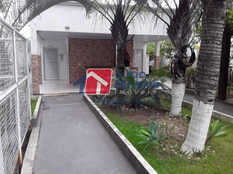 13- churrasqueira - Apartamento à venda Estrada João Paulo,Honório Gurgel, Rio de Janeiro - R$ 165.000 - VPAP21461 - 14