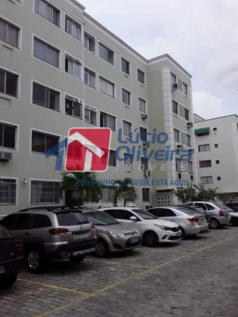 17- Estacionamento - Apartamento à venda Estrada João Paulo,Honório Gurgel, Rio de Janeiro - R$ 165.000 - VPAP21461 - 18