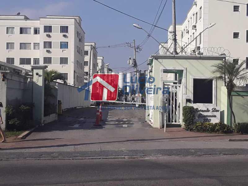 19- Fachada Cond. - Apartamento à venda Estrada João Paulo,Honório Gurgel, Rio de Janeiro - R$ 165.000 - VPAP21461 - 20