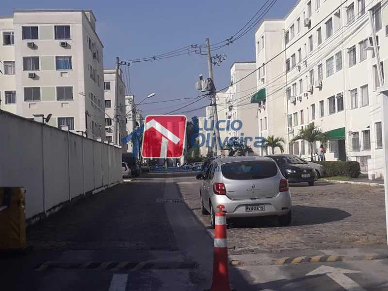 20- Estacionamento - Apartamento à venda Estrada João Paulo,Honório Gurgel, Rio de Janeiro - R$ 165.000 - VPAP21461 - 21