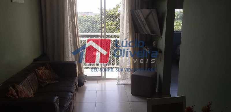 01 - Sala - Apartamento à venda Rua Cordovil,Parada de Lucas, Rio de Janeiro - R$ 195.000 - VPAP21462 - 1