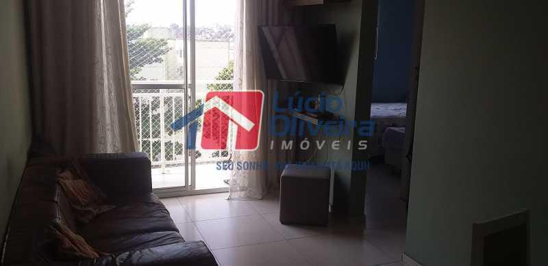 02 - Sala - Apartamento à venda Rua Cordovil,Parada de Lucas, Rio de Janeiro - R$ 195.000 - VPAP21462 - 3