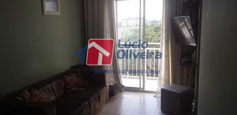 03 - Sala - Apartamento à venda Rua Cordovil,Parada de Lucas, Rio de Janeiro - R$ 195.000 - VPAP21462 - 4