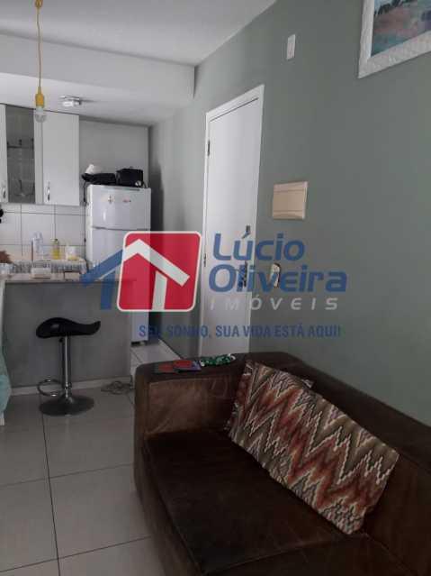 04 - Sala - Apartamento à venda Rua Cordovil,Parada de Lucas, Rio de Janeiro - R$ 195.000 - VPAP21462 - 5