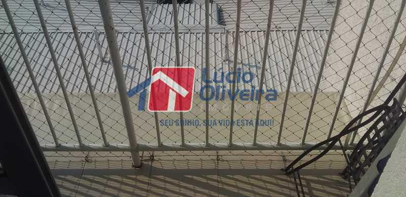 05- Varanda - Apartamento à venda Rua Cordovil,Parada de Lucas, Rio de Janeiro - R$ 195.000 - VPAP21462 - 6