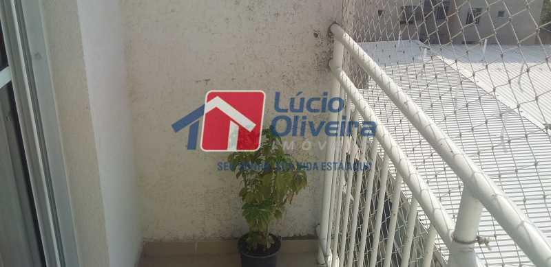 06 - Varanda - Apartamento à venda Rua Cordovil,Parada de Lucas, Rio de Janeiro - R$ 195.000 - VPAP21462 - 7