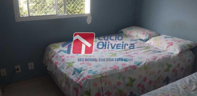 07 - Quarto Casal - Apartamento à venda Rua Cordovil,Parada de Lucas, Rio de Janeiro - R$ 195.000 - VPAP21462 - 8