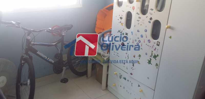 15 - Quarto Solteiro - Apartamento à venda Rua Cordovil,Parada de Lucas, Rio de Janeiro - R$ 195.000 - VPAP21462 - 11