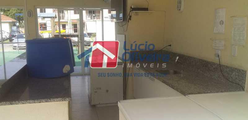 45 - Salão de Festas - Apartamento à venda Rua Cordovil,Parada de Lucas, Rio de Janeiro - R$ 195.000 - VPAP21462 - 21