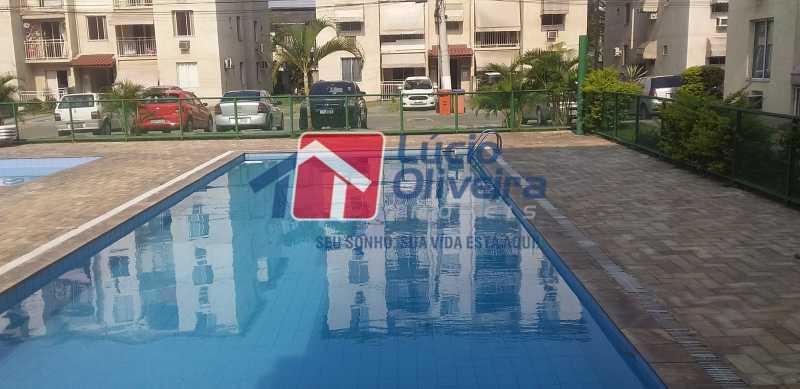 47 - Piscina - Apartamento à venda Rua Cordovil,Parada de Lucas, Rio de Janeiro - R$ 195.000 - VPAP21462 - 23