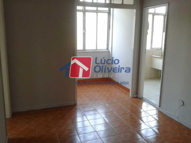 1-Sala Ambiente - Apartamento à venda Rua Manuel Fontenele,Higienópolis, Rio de Janeiro - R$ 190.000 - VPAP21463 - 1