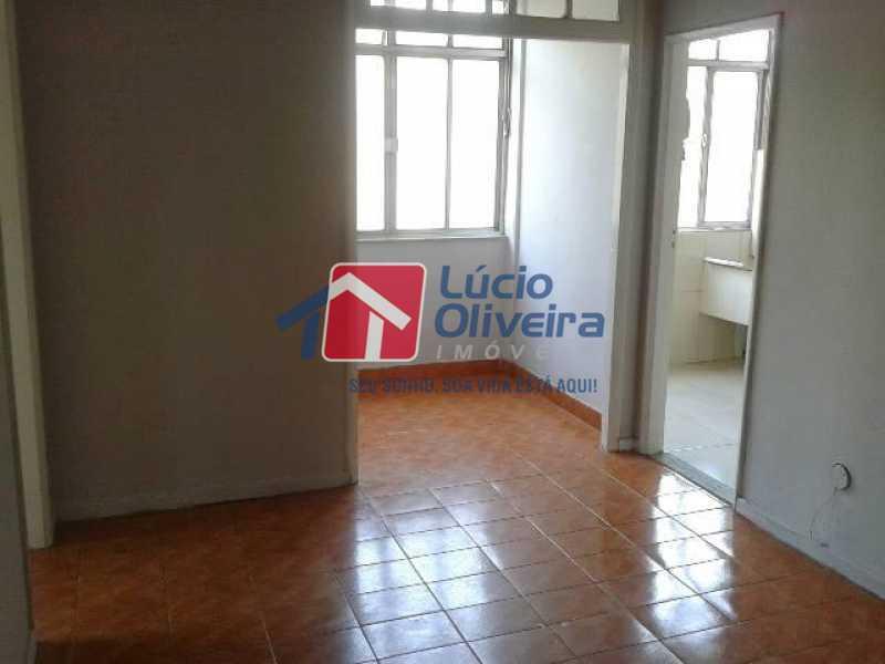 2-Sala ambiente - Apartamento à venda Rua Manuel Fontenele,Higienópolis, Rio de Janeiro - R$ 190.000 - VPAP21463 - 3