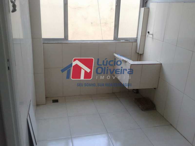 9-Area e Lavanderia - Apartamento à venda Rua Manuel Fontenele,Higienópolis, Rio de Janeiro - R$ 190.000 - VPAP21463 - 10