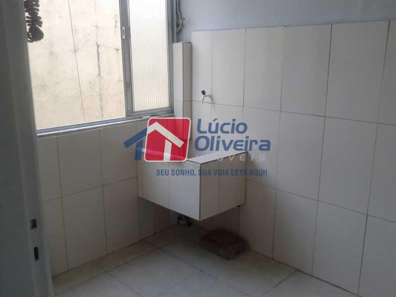 10-Area serviço - Apartamento à venda Rua Manuel Fontenele,Higienópolis, Rio de Janeiro - R$ 190.000 - VPAP21463 - 11