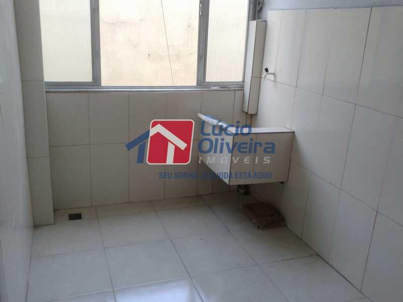 13-Lavanderia - Apartamento à venda Rua Manuel Fontenele,Higienópolis, Rio de Janeiro - R$ 190.000 - VPAP21463 - 14