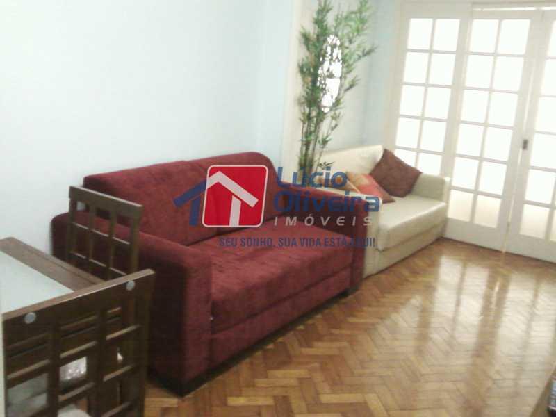 1-Sala ambiente - Apartamento à venda Avenida Nossa Senhora de Copacabana,Copacabana, Rio de Janeiro - R$ 365.000 - VPAP10157 - 3