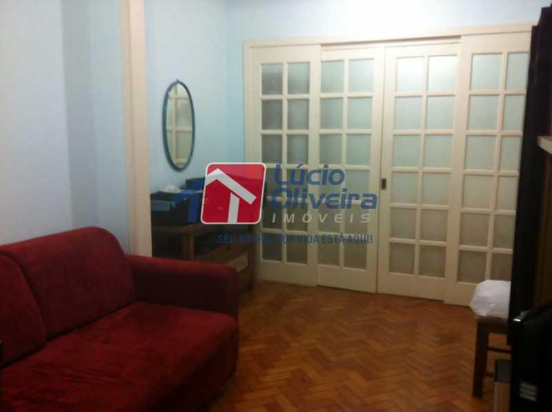 2-Sala divisoria quarto - Apartamento à venda Avenida Nossa Senhora de Copacabana,Copacabana, Rio de Janeiro - R$ 365.000 - VPAP10157 - 4