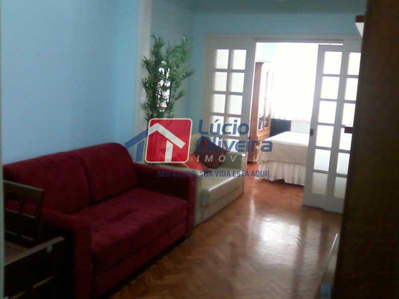 5-Sala... - Apartamento à venda Avenida Nossa Senhora de Copacabana,Copacabana, Rio de Janeiro - R$ 365.000 - VPAP10157 - 1