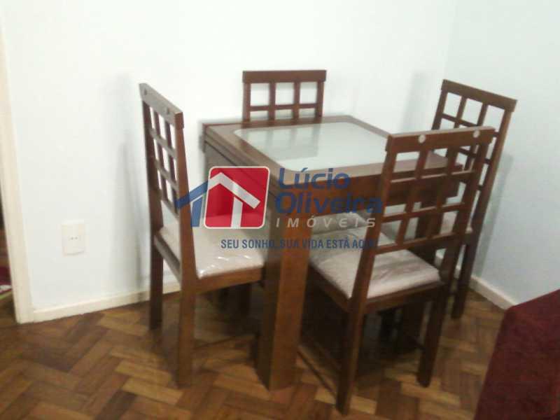 6-Sala jantar - Apartamento à venda Avenida Nossa Senhora de Copacabana,Copacabana, Rio de Janeiro - R$ 365.000 - VPAP10157 - 7