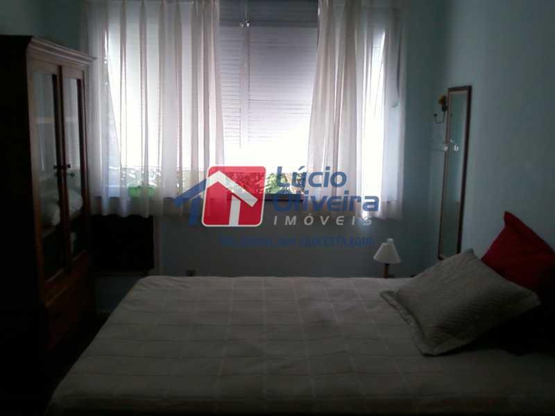 9-Quarto com vista livre - Apartamento à venda Avenida Nossa Senhora de Copacabana,Copacabana, Rio de Janeiro - R$ 365.000 - VPAP10157 - 10