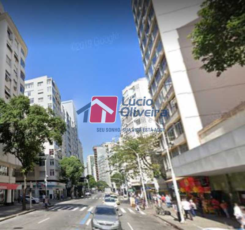 17-Vista da Rua - Apartamento à venda Avenida Nossa Senhora de Copacabana,Copacabana, Rio de Janeiro - R$ 365.000 - VPAP10157 - 18