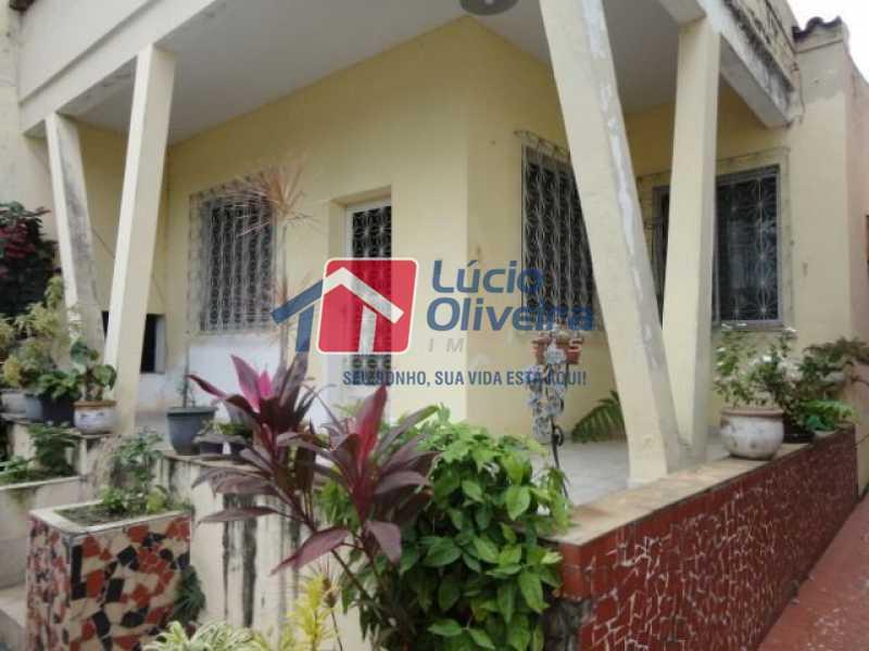 01- Fachada - Casa à venda Avenida Ilha das Enxadas,Bancários, Rio de Janeiro - R$ 472.500 - VPCA30205 - 1