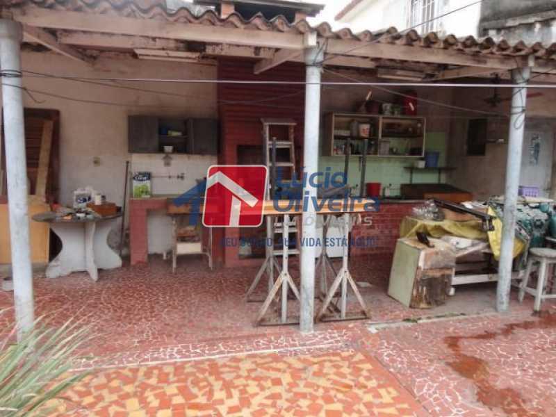 04- Churrasqueira - Casa à venda Avenida Ilha das Enxadas,Bancários, Rio de Janeiro - R$ 472.500 - VPCA30205 - 5