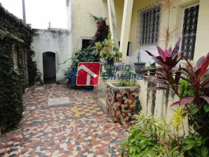 10- Jardim - Casa à venda Avenida Ilha das Enxadas,Bancários, Rio de Janeiro - R$ 472.500 - VPCA30205 - 11
