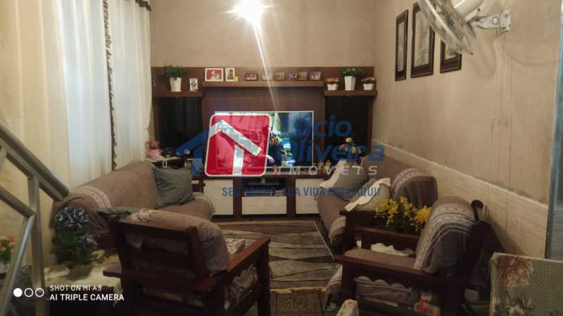 1-Sala estar. - Casa à venda Rua Belisário Pena,Penha, Rio de Janeiro - R$ 490.000 - VPCA30206 - 1