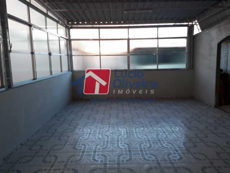 16-Terraço fechado. - Casa à venda Rua Belisário Pena,Penha, Rio de Janeiro - R$ 490.000 - VPCA30206 - 17