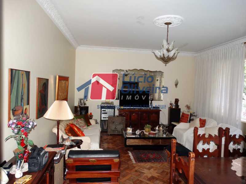 1-Sala - Apartamento à venda Rua João Alfredo,Tijuca, Rio de Janeiro - R$ 750.000 - VPAP50003 - 1