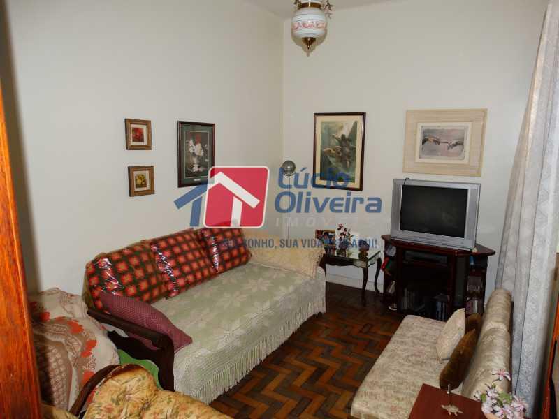 3-Sala - Apartamento à venda Rua João Alfredo,Tijuca, Rio de Janeiro - R$ 750.000 - VPAP50003 - 4
