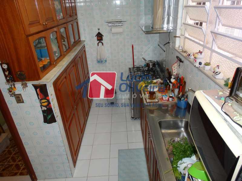 13-Cozinha - Apartamento à venda Rua João Alfredo,Tijuca, Rio de Janeiro - R$ 750.000 - VPAP50003 - 13