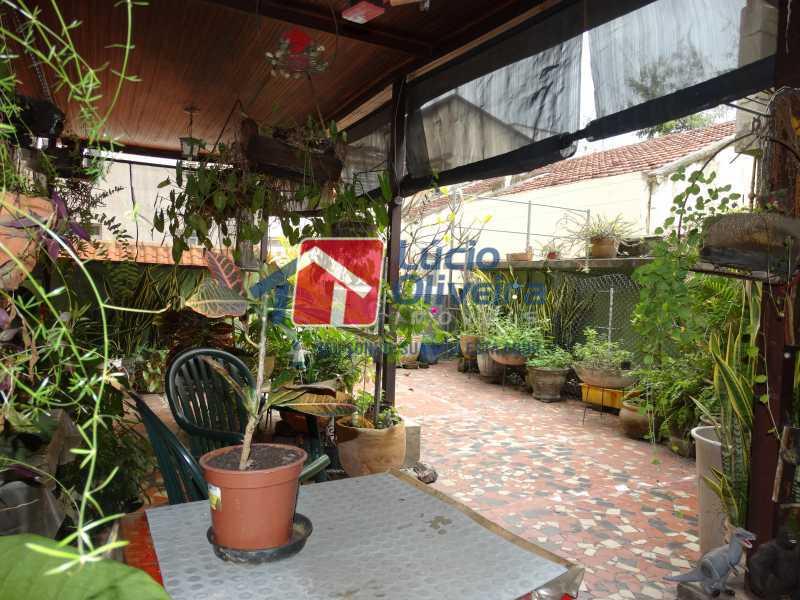 19-Terraço - Apartamento à venda Rua João Alfredo,Tijuca, Rio de Janeiro - R$ 750.000 - VPAP50003 - 19