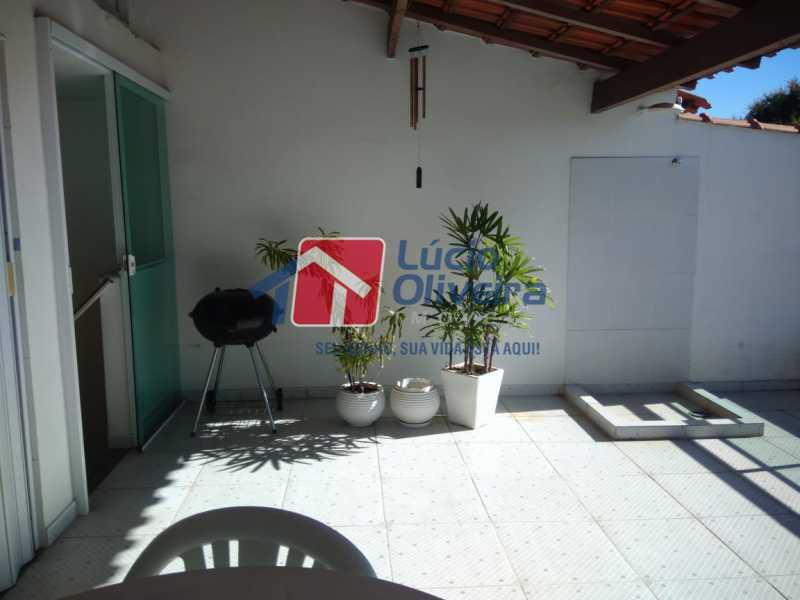 19. - Casa em Condomínio à venda Estrada do Barro Vermelho,Rocha Miranda, Rio de Janeiro - R$ 290.000 - VPCN20031 - 19