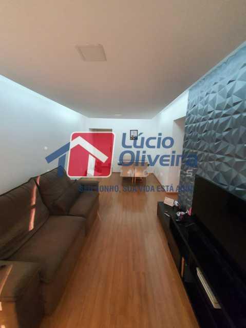 1-Sala ambiente - Apartamento à venda Travessa da Benevolência,Vila da Penha, Rio de Janeiro - R$ 380.000 - VPAP21470 - 1