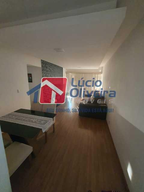 2-Sala ambiente para varanda - Apartamento à venda Travessa da Benevolência,Vila da Penha, Rio de Janeiro - R$ 380.000 - VPAP21470 - 3