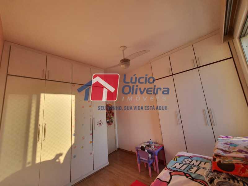 9-Quarto solteiro 1 - Apartamento à venda Travessa da Benevolência,Vila da Penha, Rio de Janeiro - R$ 380.000 - VPAP21470 - 10