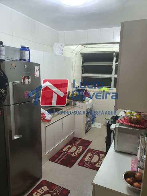 11-Cozinha armários - Apartamento à venda Travessa da Benevolência,Vila da Penha, Rio de Janeiro - R$ 380.000 - VPAP21470 - 12