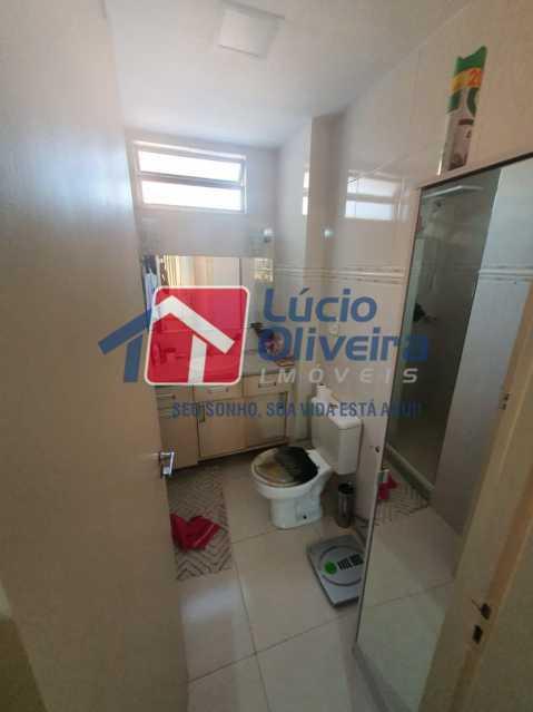 14-Banheiro suite... - Apartamento à venda Travessa da Benevolência,Vila da Penha, Rio de Janeiro - R$ 380.000 - VPAP21470 - 15