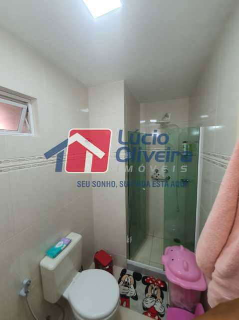 16-Banheiro social - Apartamento à venda Travessa da Benevolência,Vila da Penha, Rio de Janeiro - R$ 380.000 - VPAP21470 - 17